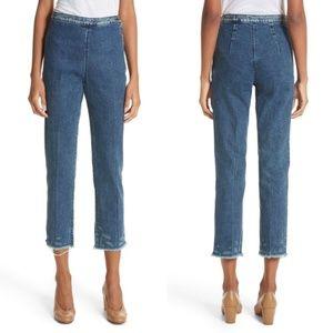 Rachel Comey Fletcher Slim Straight Cropped Jeans